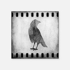 "Soul Of Crow Square Sticker 3"" x 3"""