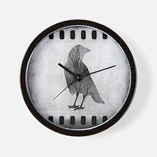 Soul Of Crow Wall Clock