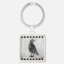 Soul Of Crow Square Keychain