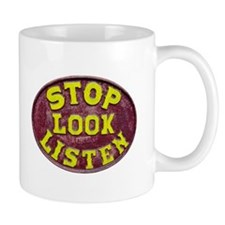 Stop, Look and Listen Mug