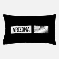 Black & White U.S. Flag: Arizona Pillow Case