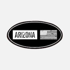 Black & White U.S. Flag: Arizona Patch