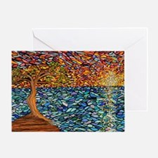 Funny Trees Greeting Card