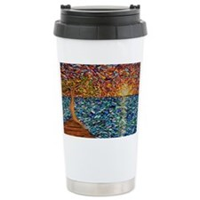 Cute Stained Travel Mug