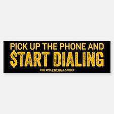 Pick Up The Phone Sticker (Bumper)
