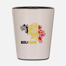 Belgium Paisley Shot Glass