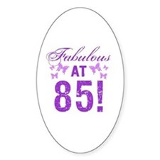 Fabulous 85th Birthday Decal