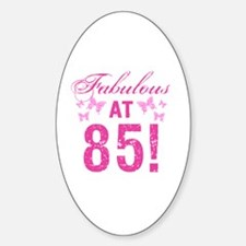 Fabulous 85th Birthday Decal
