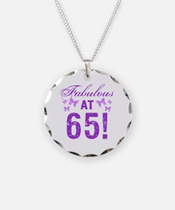 Fabulous 65th Birthday Necklace