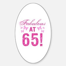Fabulous 65th Birthday Decal