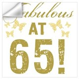 65th birthday Wall Decals