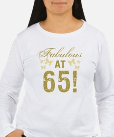 Fabulous 65th Birthday T-Shirt