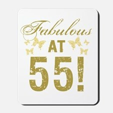 Fabulous 55th Birthday Mousepad