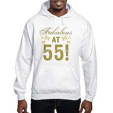 Fabulous 55th Birthday Hoodie