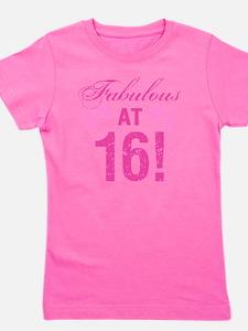 Fabulous 16th Birthday Girl's Tee