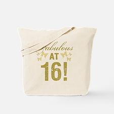 Fabulous 16th Birthday Tote Bag