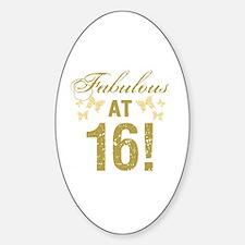 Fabulous 16th Birthday Decal