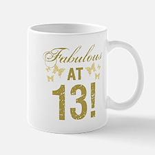 Fabulous 13th Birthday Mugs