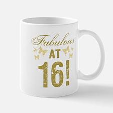 Fabulous 16th Birthday Mugs