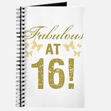 Fabulous 16th Birthday Journal