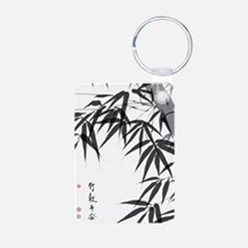 Asian Bamboo Keychains
