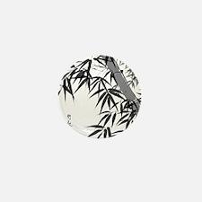 Asian Bamboo Mini Button
