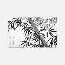 Asian Bamboo Area Rug