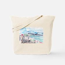 Sunset Beach SXM Tote Bag