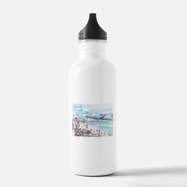 Sunset Beach SXM Water Bottle