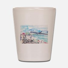 Sunset Beach SXM Shot Glass