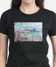 Sunset Beach SXM Tee
