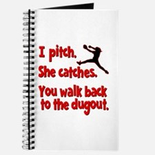 I PITCH, SHE CATCHERS Journal