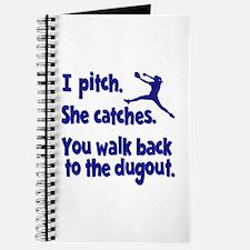 I PITCH, SHE CATCHERS Journal