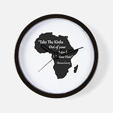 Unique Rastafari Wall Clock