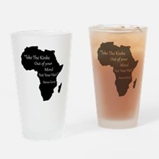 Funny African Drinking Glass