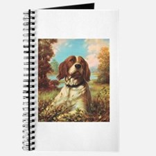 Vintage Brittany Spaniel Journal
