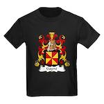 Gagne Family Crest Kids Dark T-Shirt