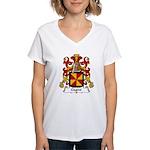 Gagne Family Crest Women's V-Neck T-Shirt