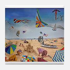 Robert Moses Beach Tile Coaster