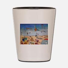 Robert Moses Beach Shot Glass