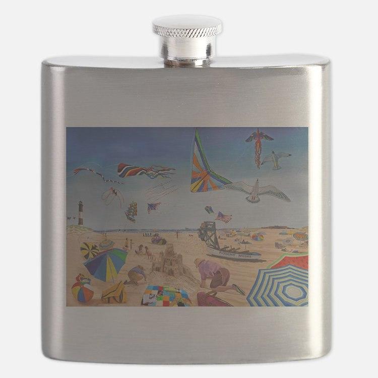 Robert Moses Beach Flask