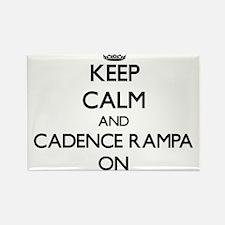 Keep Calm and Cadence Rampa ON Magnets