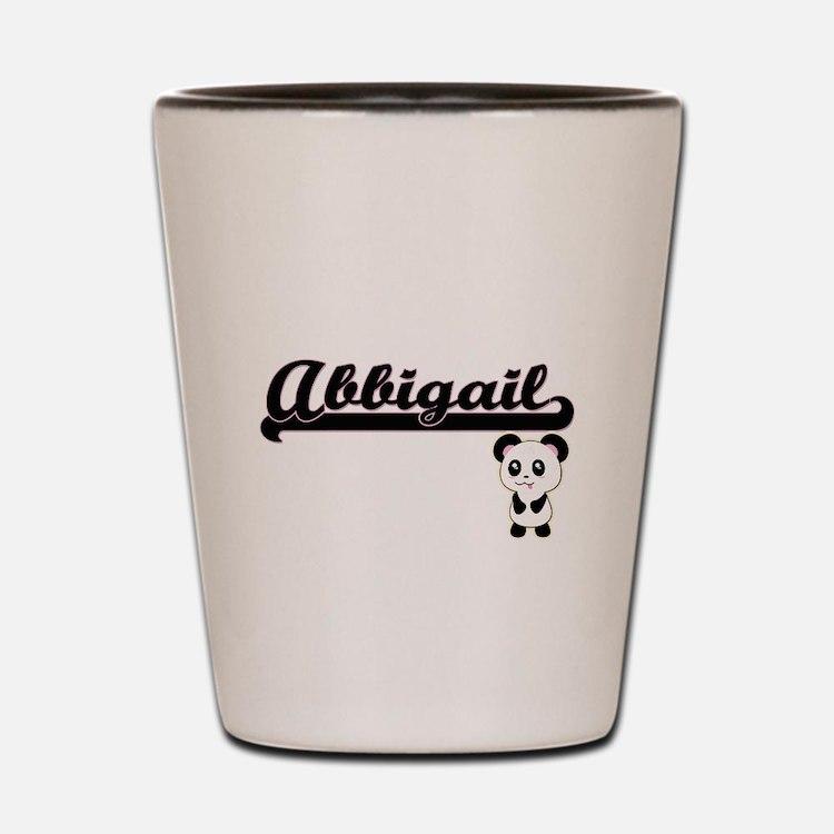 Abbigail Classic Retro Name Design with Shot Glass