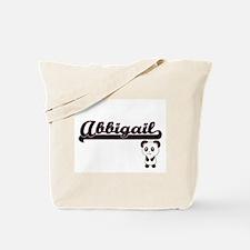 Abbigail Classic Retro Name Design with P Tote Bag