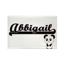 Abbigail Classic Retro Name Design with Pa Magnets