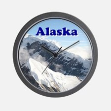Alaska: Alaska Range, USA Wall Clock