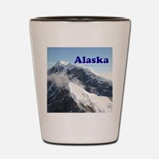 Alaska: Alaska Range, USA Shot Glass
