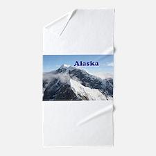 Alaska: Alaska Range, USA Beach Towel