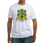 Fresne Family Crest Fitted T-Shirt