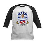 Freniere Family Crest Kids Baseball Jersey